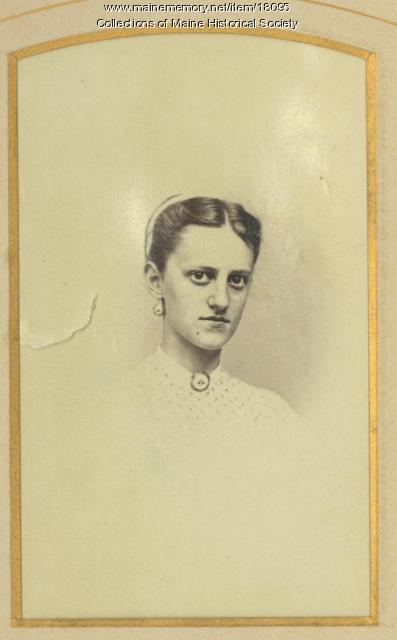 Alice Lowell Raymond, Portland, ca. 1890