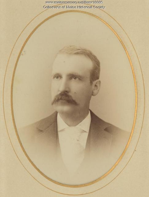 George E. Raymond, Portland, ca. 1880