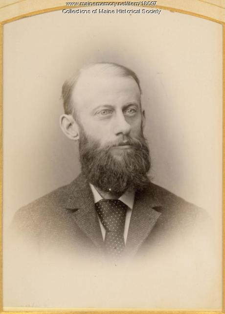 William Senter Lowell, Portland, ca. 1880