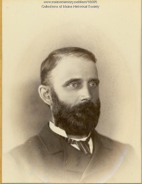 James Scott Lowell,  ca. 1880