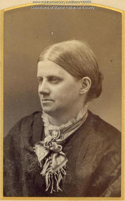 Anna Scott Lowell, Portland, ca. 1880