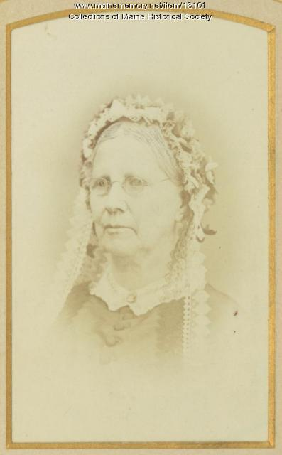 Alice A. Sisson Scott, Portland, ca. 1870
