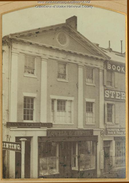 Lowell & Senter, Portland, ca. 1860