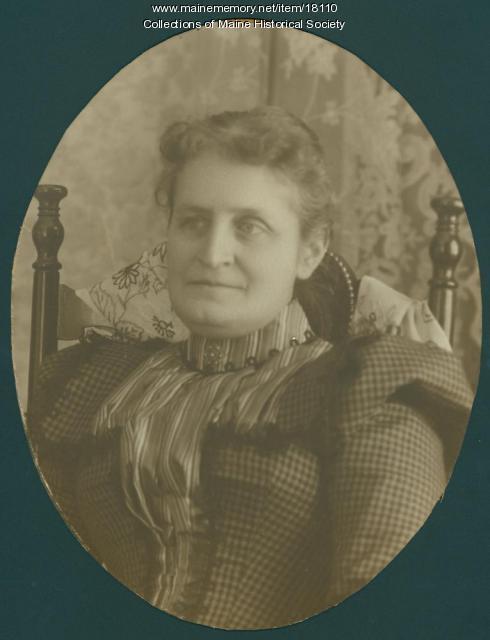 Etta J. Tinker Prescott, ca. 1880