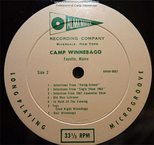 Camp Winnebago recording of Hail Winnebago