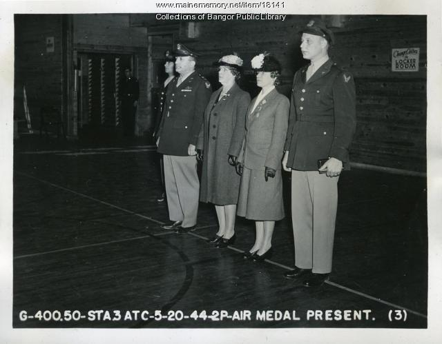 Air Medal Presentation, Dow Field