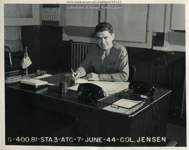 Colonel Jensen, Dow Field