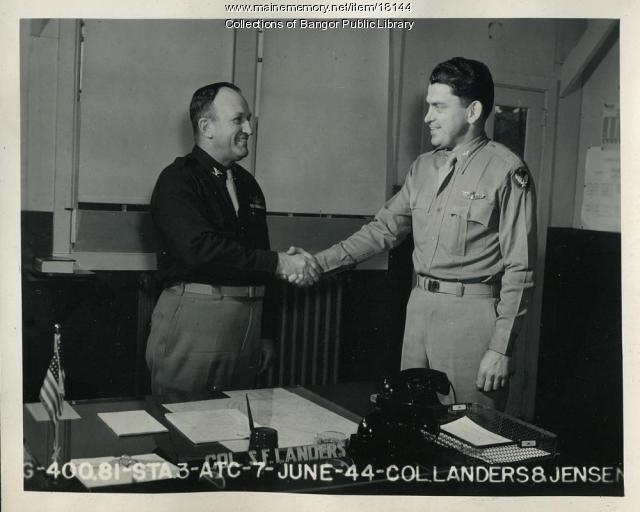 Colonels Landers and Jensen, Dow Field