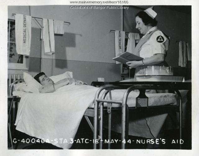 Nurse's Aide, Dow Field, Bangor