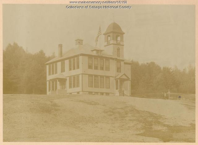 Potter Academy, Sebago, ca. 1900