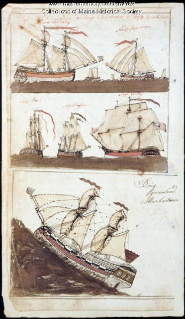 Storekeeper account book, Parsonsfield, 1803