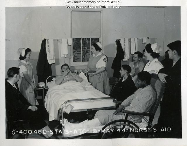 Dow Field Nurse's Aide, 1944
