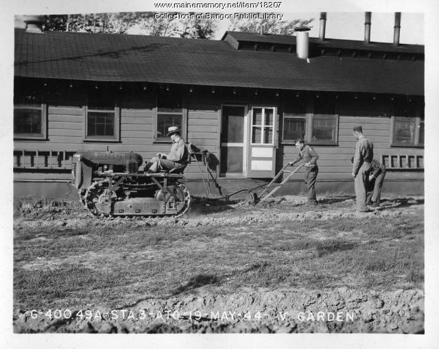 Dow Field Garden, Bangor, 1944