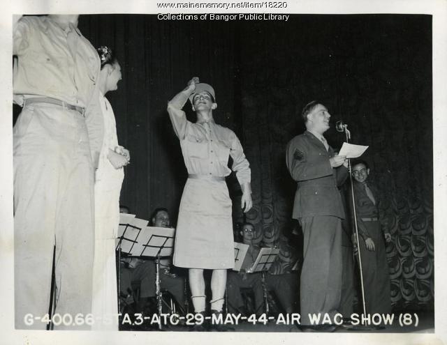 Dow Field Air Women's Army Corps Show, Bangor, 1944