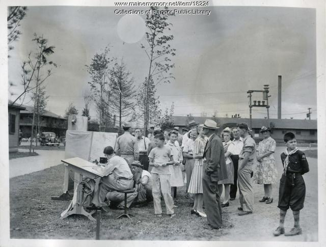 Dow Field open house, Bangor, 1944