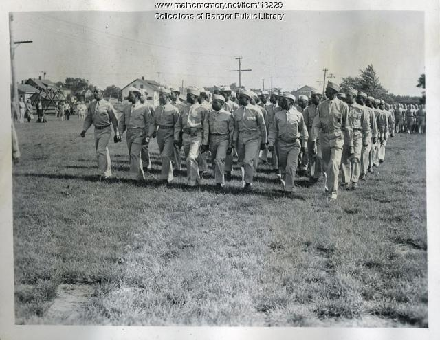 Dow Field military personnel, Bangor, 1944
