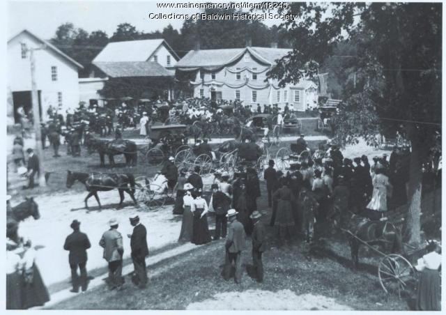 Centennial Celebration in Baldwin, 1902