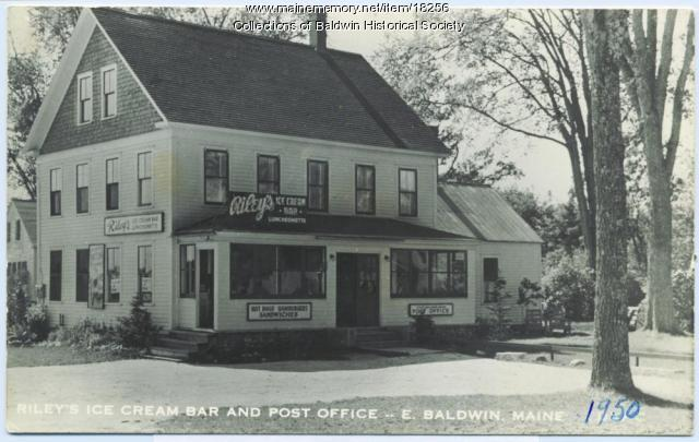 Riley's Ice Cream Bar and Post Office, East Baldwin