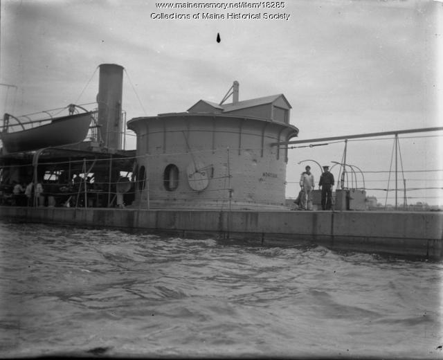 U.S.S. Montauk, Portland Harbor, 1898
