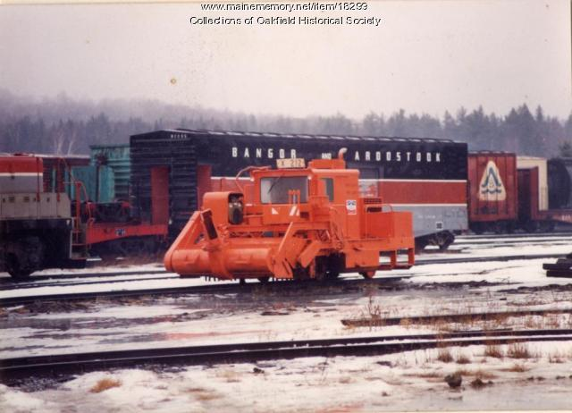 Bangor and Aroostook Railroad Yard, Brownville, ca. 1990