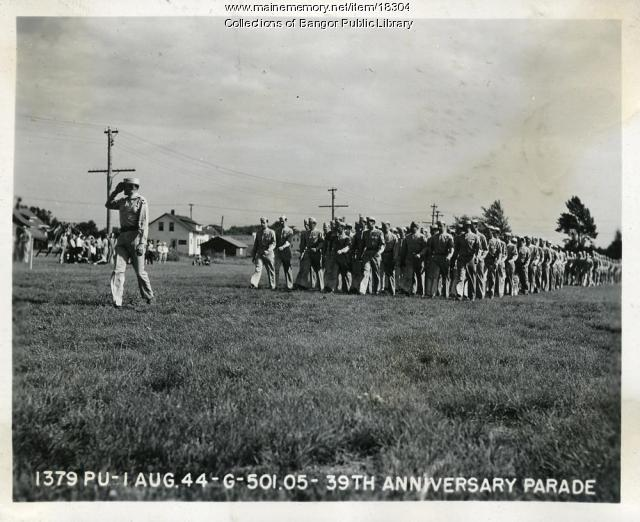 39th anniversary observance, Dow Field, Bangor, 1944