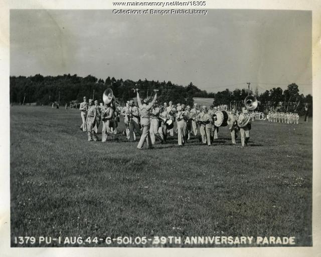 Anniversary parade, Dow Field, 1944