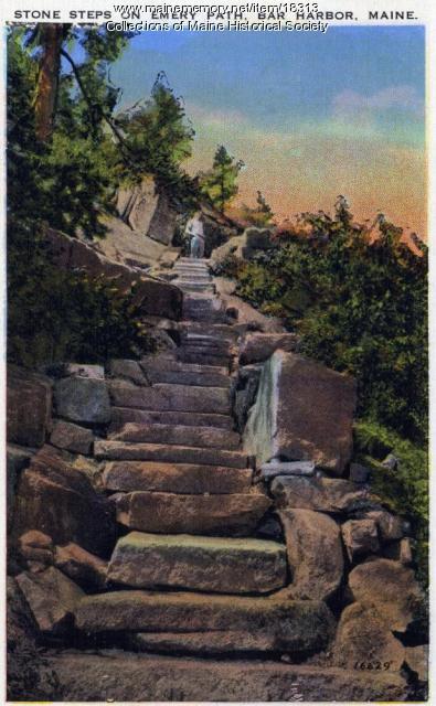 Emery Path, Bar Harbor, ca. 1902