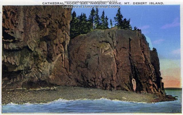 Cathedral Rock, Bar Harbor, ca. 1930