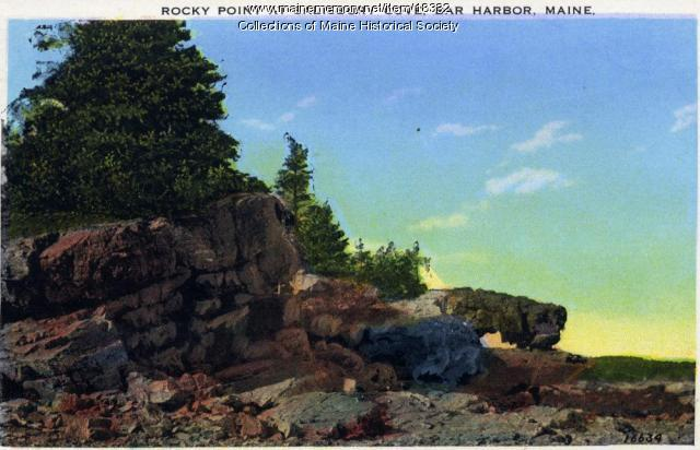 Rocky Point, Salisbury Cove, ca. 1930