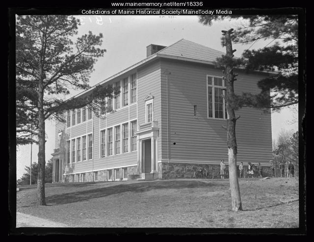 Cottage Farm School, Cape Elizabeth, 1927