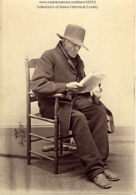 Jonathan Morgan, Portland, 1869