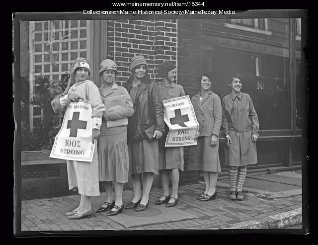 Red Cross staff, Portland, 1926