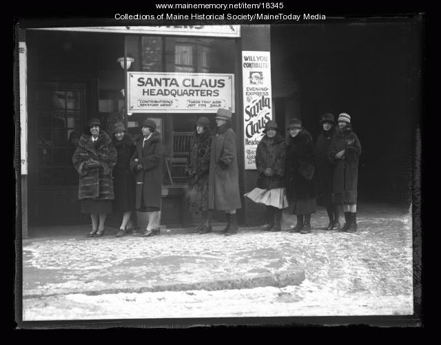 Santa Claus headquarters, Portland, 1926