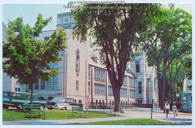 St. Peter's parochial school, Lewiston, ca. 1964