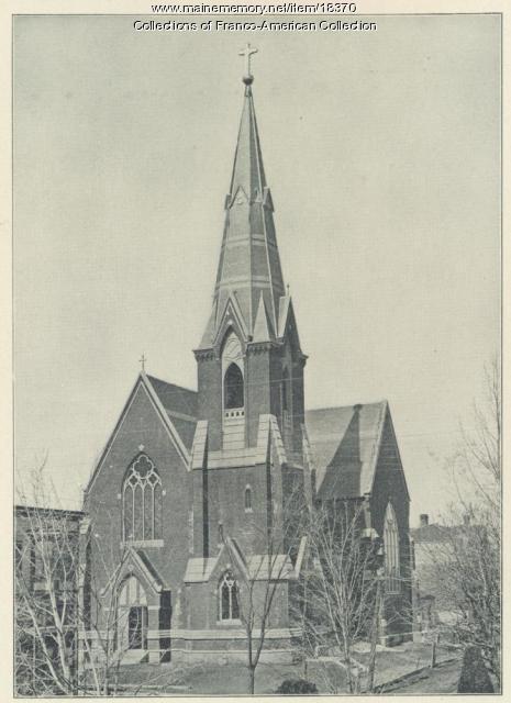 First St. Peter's Church, Lewiston, ca. 1900