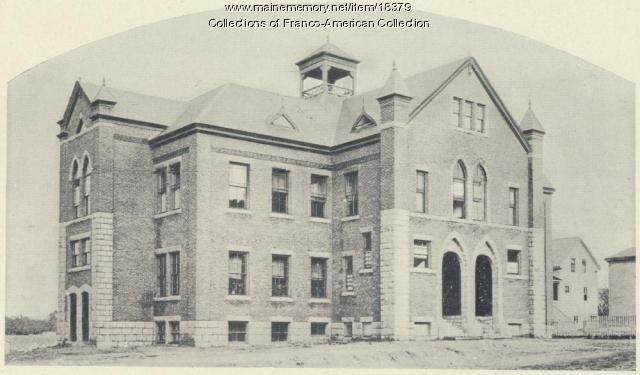 St. Louis Chapel School, New Auburn, ca. 1895