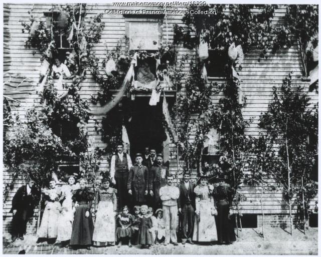 Tancrel House, Lewiston, 1895