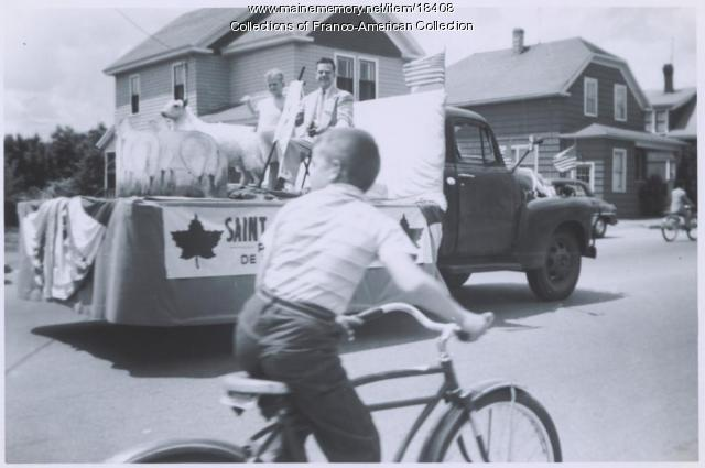 St. John the Baptist celebration, Lewiston, 1958