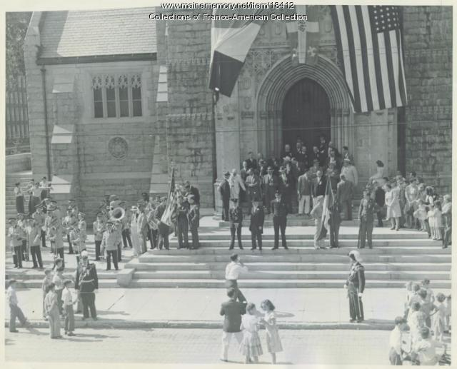 Montagnard Band, Lewiston, 1947