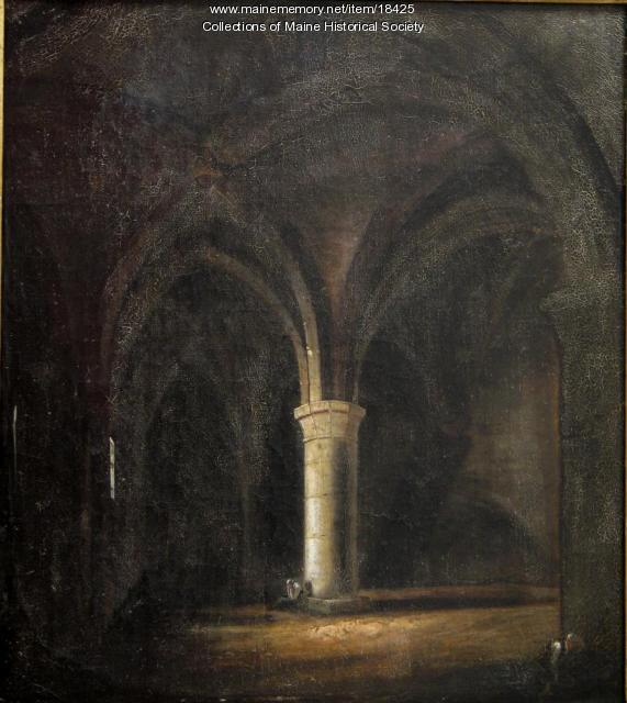 Cathedral Interior by Frederick Mellen, 1833
