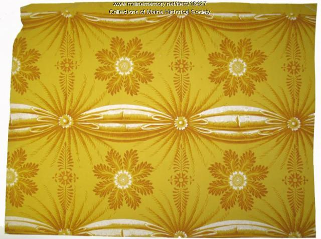 Wallpaper, ca. 1820