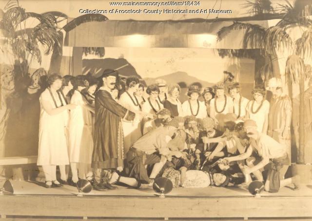 Pirates of Penzance, Ricker Classical Institute, Houlton, 1926