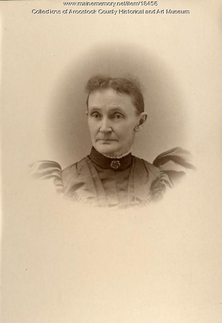 Mary Cunningham Miller, Houlton, ca. 1880