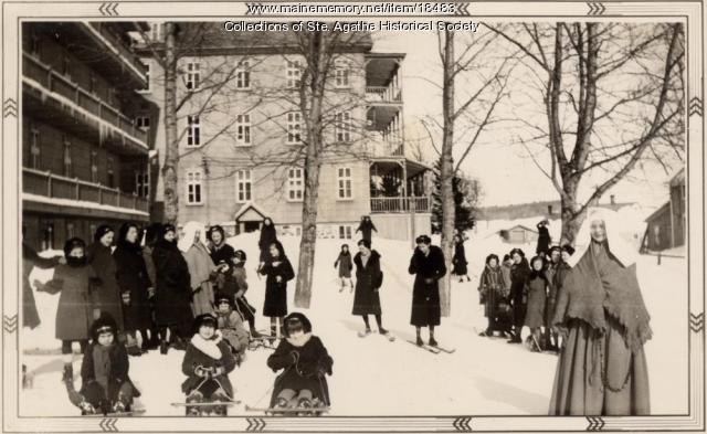 Notre Dame de la Sagesse High School, St.  Agatha , ca. 1935