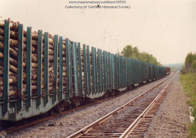 Bangor and Aroostook Railroad, Presque Isle, c. 1990