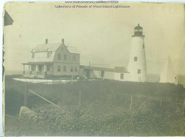 Wood Island Lighthouse, ca. 1910