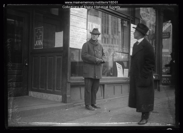 Influenza, war posters, Portland, ca. 1918