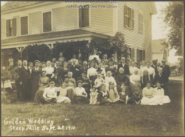 Golden Wedding Anniversary, 1910
