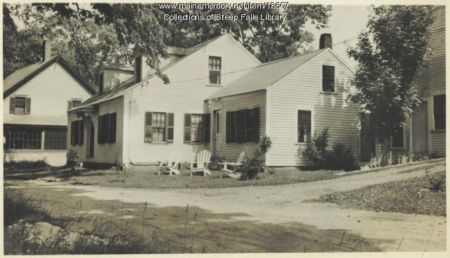 Daniel Heath Farm, Steep Falls, ca. 1930