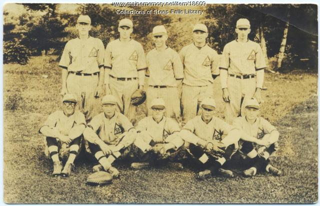 Baseball team, Steep Falls